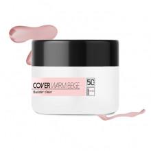 Żel cover różowy SIMPLE SHAPE Cover Warm beige – 50 g