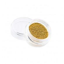 Kawior do paznokci 0,6 mm - złoty